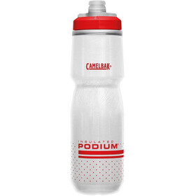 CamelBak Podium Chill Bottle 710ml fiery red/white